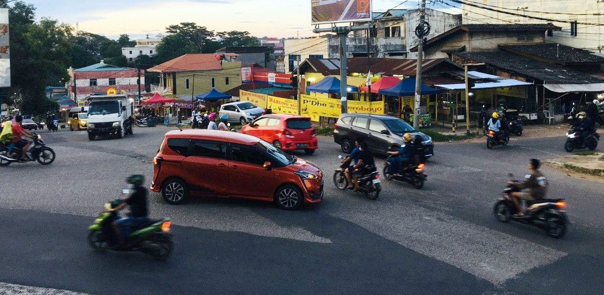 Jalan di Kota Batam