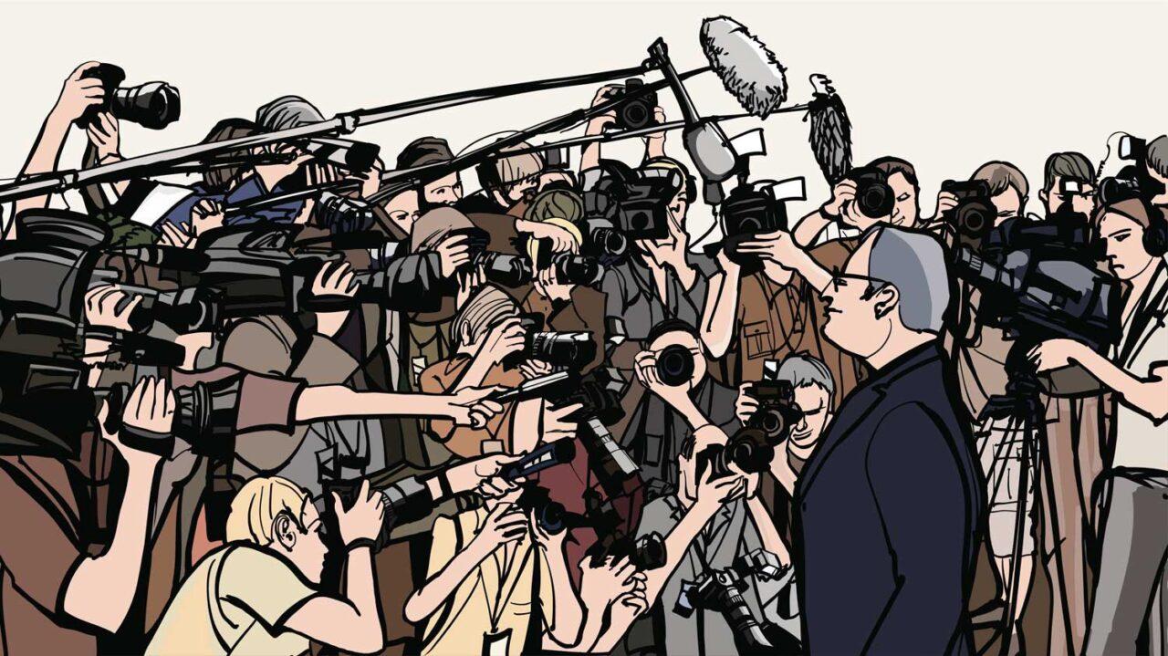 ilustrasi wartawan