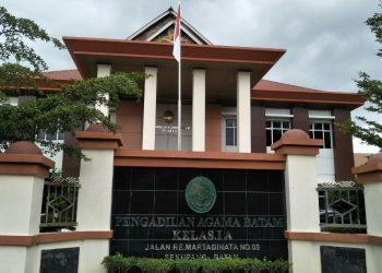 Gedung Pengadilan Agama Kota Batam. (Foto: Gaga Handika Damanik)