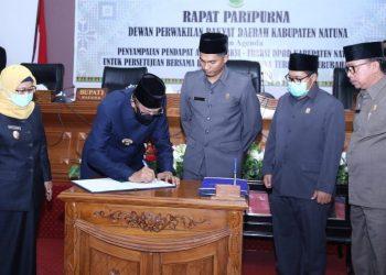 Bupati Natuna DPRD