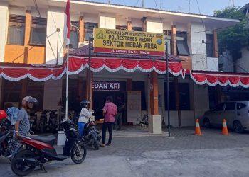 Tahanan Polsek Medan Area Kabur