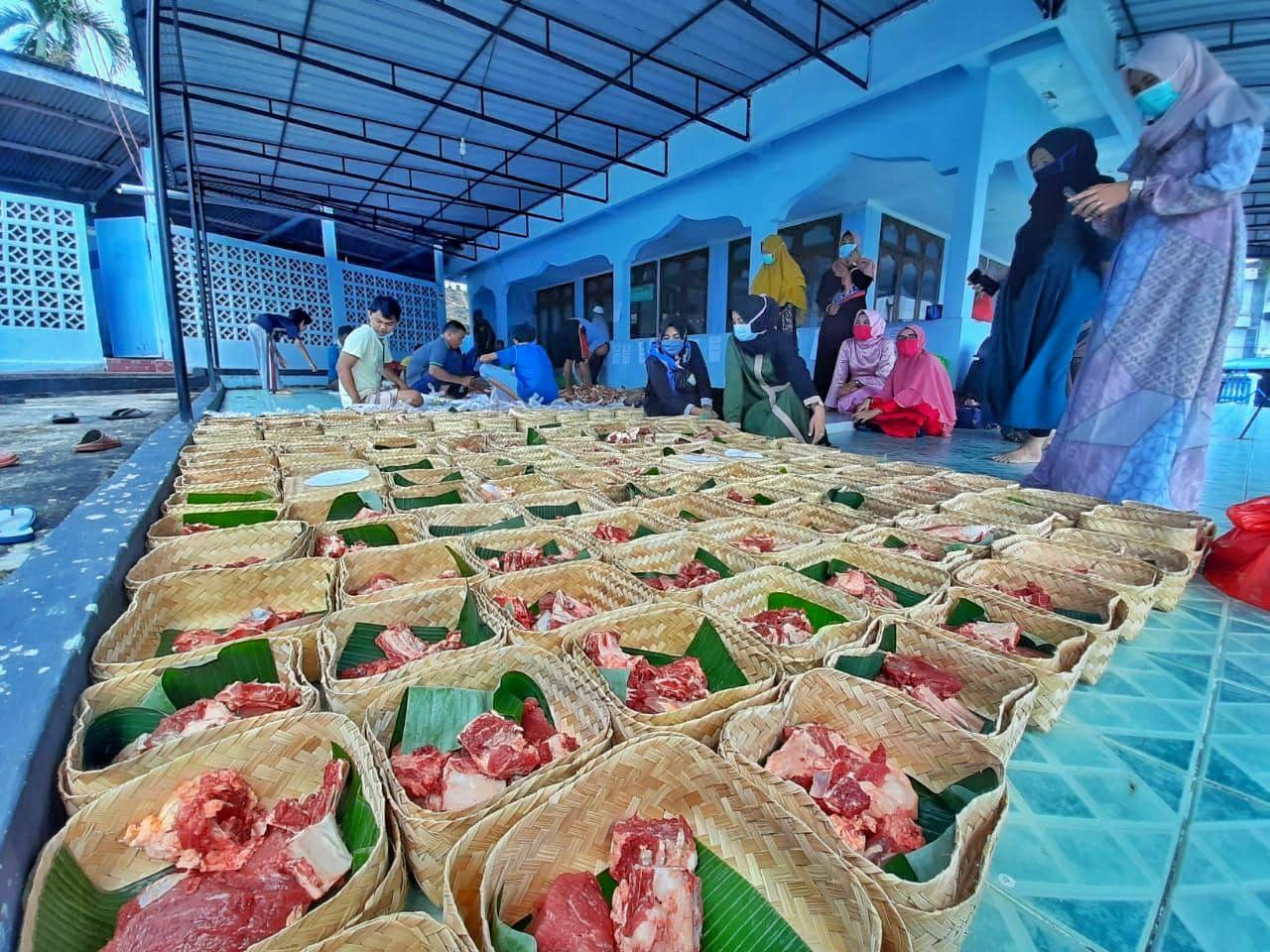 daging kurban Lanud RHF
