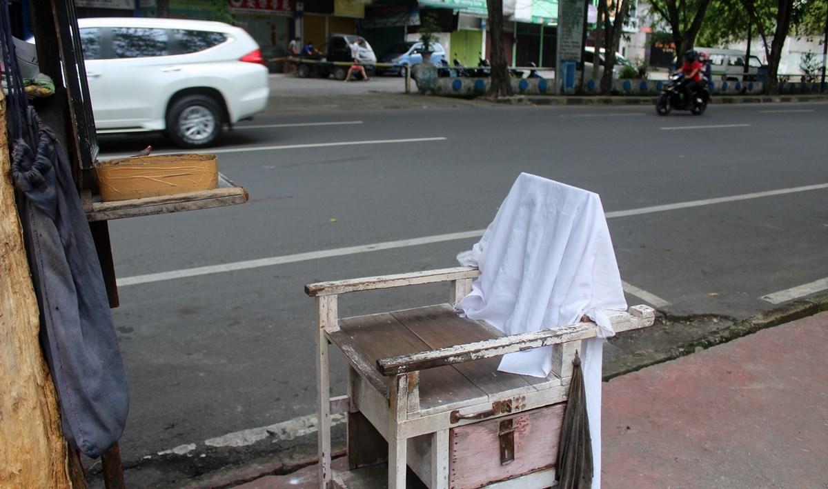 kursi tukang pangkas Medan