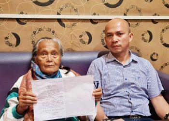 ibu digugat anak di Medan