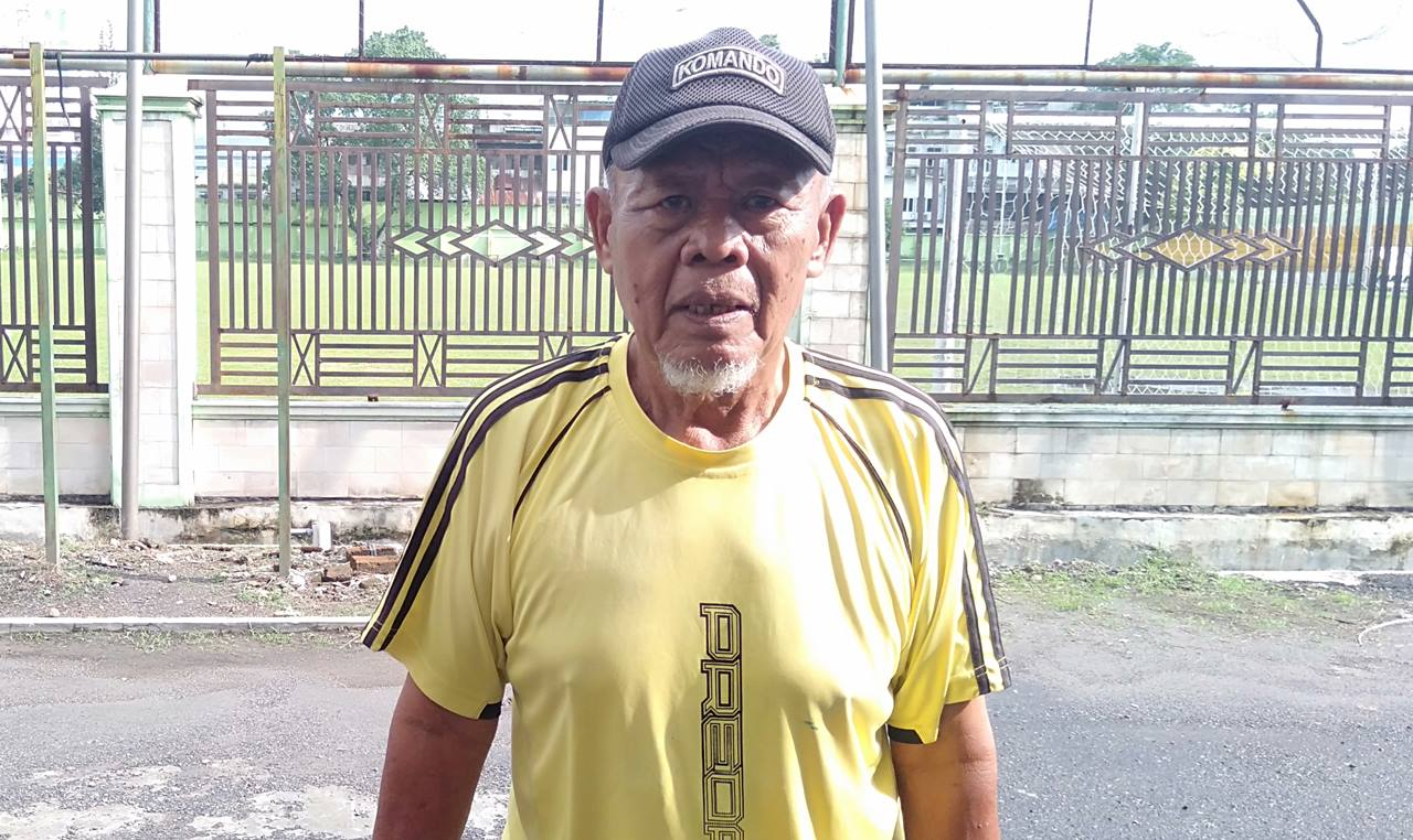 pemain bola legendaris Nobon Kayamuddin asal PSMS Medan