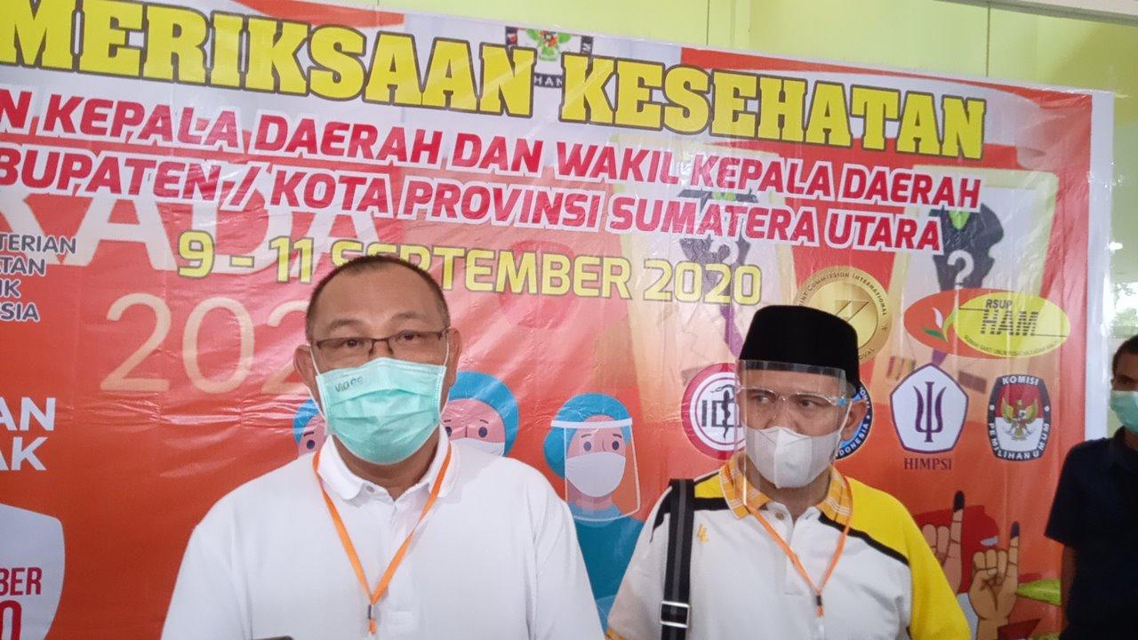 Paslon Wali Kota Medan