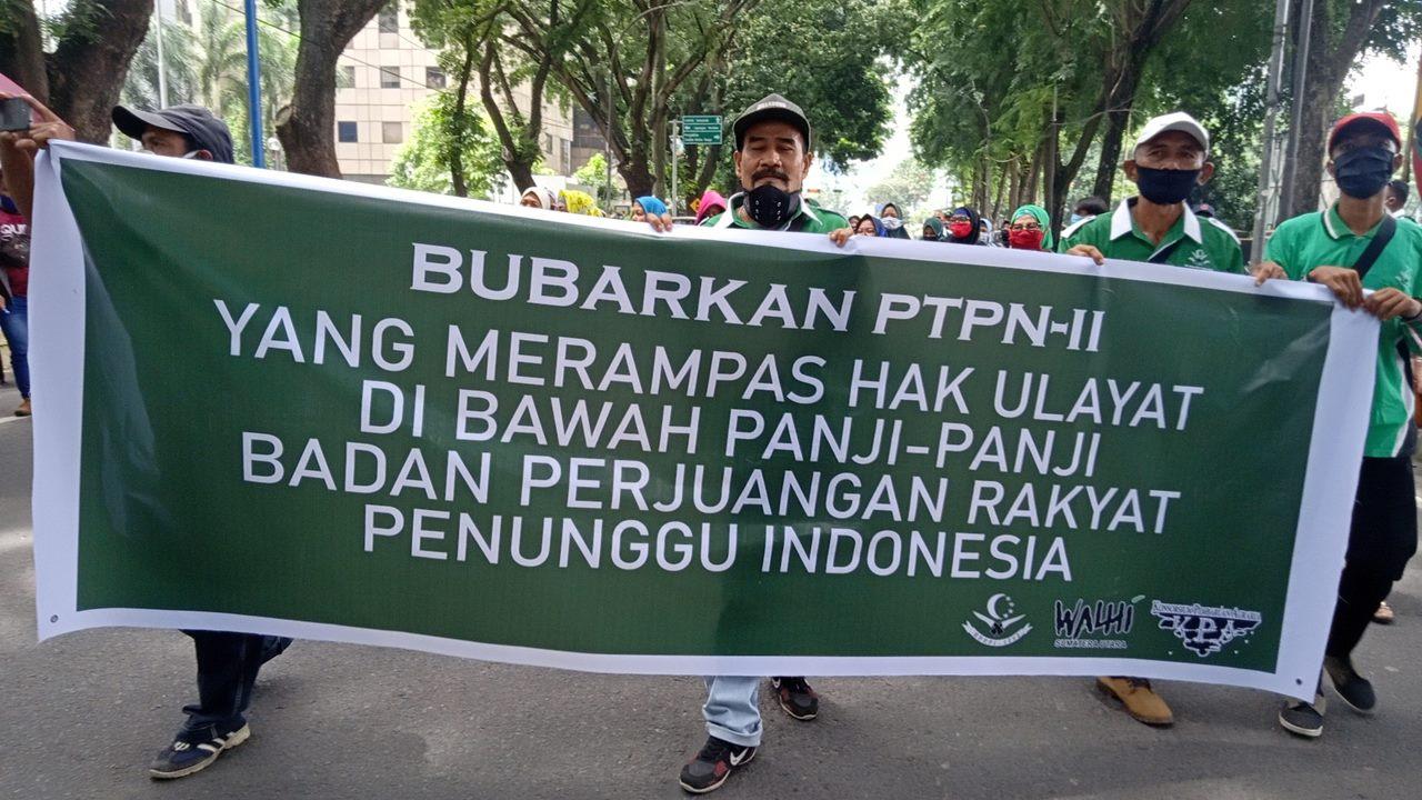 demo DPRD Sumut