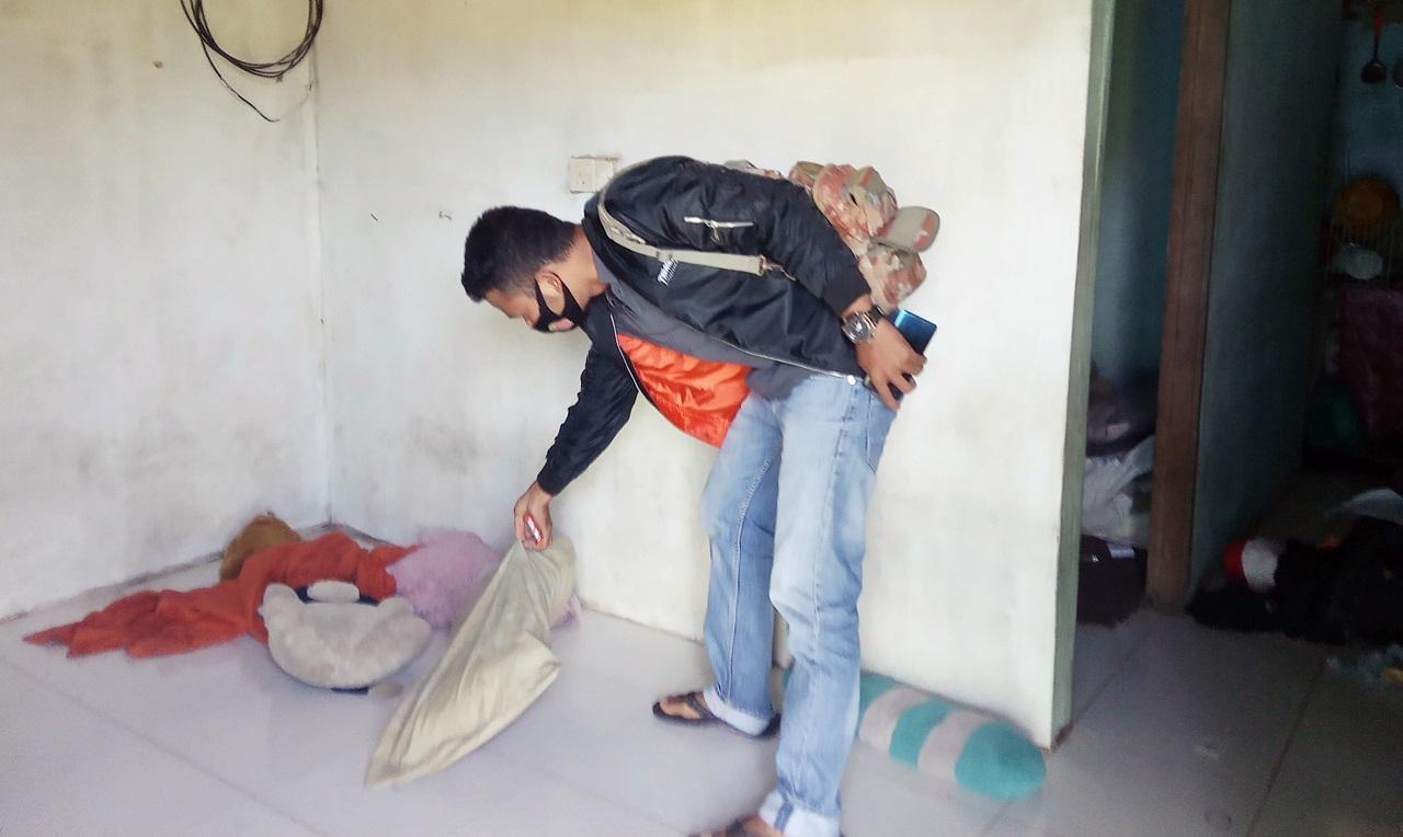 rumah korban pemerkosaan Batam