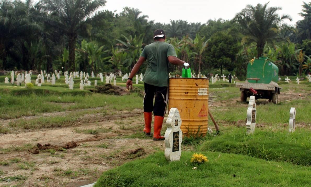 pemakaman Covid Medan Sumut
