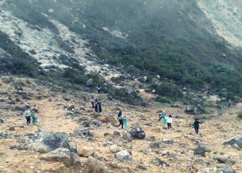 pendakian Gunung Sibayak Karo