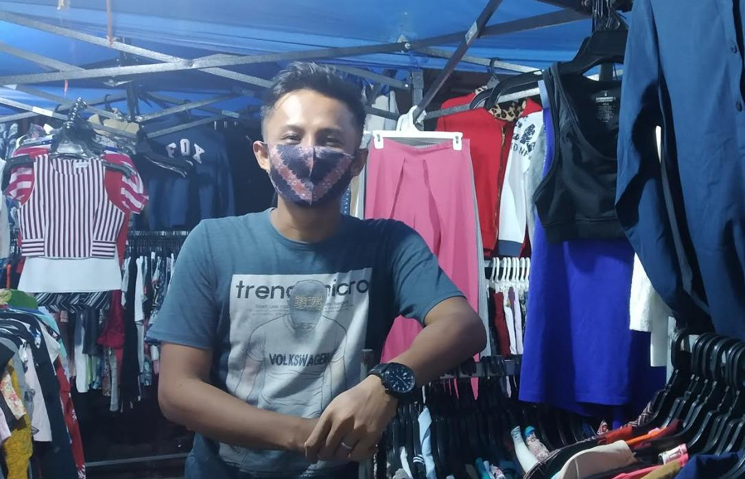 Penjual kain Batam