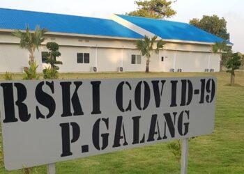 Rumah Sakit Khusus Infeksi (RSKI) Galang, Kota Batam. (Foto: Muhamad Ishlahuddin)