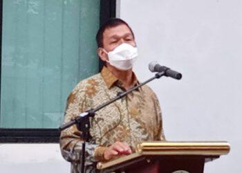 Rektor USU, Runtung Sitepu. (Foto: Tonggo Simangunsong)