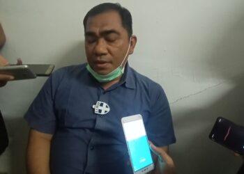 Bakti Lubis, ketua tim pemenangan INSANI saat memberikan keterangan pers pada wartawan. (Foto: Joni Pandiangan)