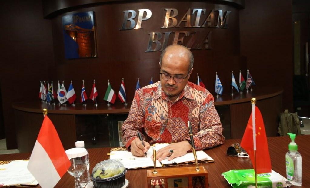 Kepala BP Batam
