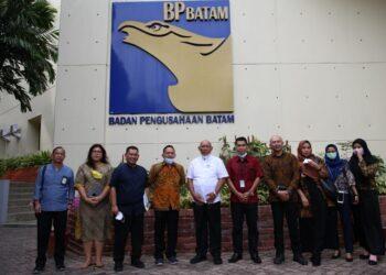Badan Pengusahaan (BP) Bintan melakukan kunjungan kerja ke Badan Pengusahaan (BP) Batam, Jumat (19/2/2021). (Foto: Humas BP Batam)