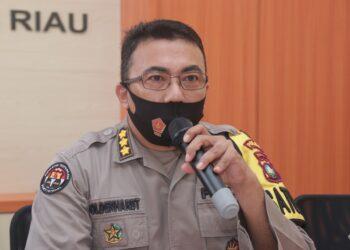 Kepala Bidang Hubungan Masyarakat Polda Kepri, Kombes Pol Harry Goldenhart. (Foto: Arsip Polda Kepri)