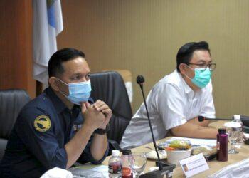 Acara ngopi bareng BSOA yang digelar oleh Biro Humas Promosi dan Protokol BP Batam, Kamis, 4 Maret 2021, di Gedung Marketing Centre, BP Batam. (Foto: Humas BP Batam)