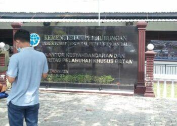 Kantor Kesyahbandaran dan Otoritas Pelabuhan (KSOP) Khusus Batam. (Foto: Bintang Hasibuan)