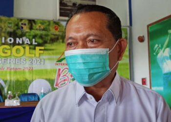 Kepala Dinas Pariwisata (Dispar) Kepulauan Riau, Bualimar. (Fathur Rohim)