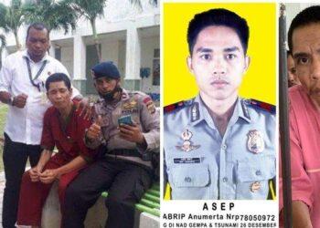 Pria diduga Abrip Asep ditemukan setelah 17 tahun menghilang dari Tsunami Aceh. (Foto: Istimewa)