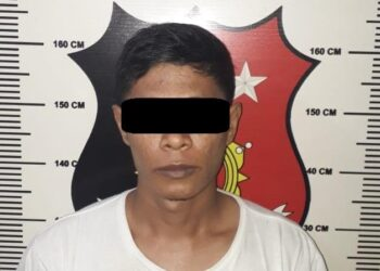 Pria berinisial MZ (27), warga Kecamatan Bengkong, Kota Batam, Kepulauan Riau. (Foto: Arsip Polresta Barelang)