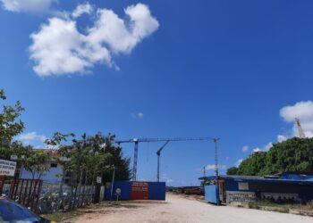 Kawasan PT Marcopolo Shipyard, Sagulung, Batam. (Foto: Muhammad Ishlahuddin)