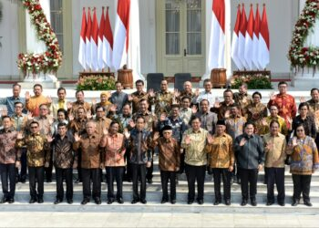 Kabinet Indonesia Maju Jilid II. (Foto: Istimewa)