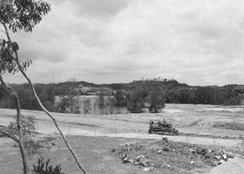 Lokasi perluasan lahan Kampung Tua Patam Lestari. (Foto: Muhamad Islahuddin)