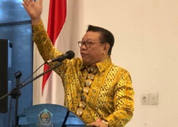 Anggota Wantimpres, HR Agung Laksono. (Foto: Achmad Ristanto).