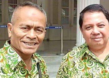 Ketua PWI Pusat, Atal S Depari (kiri) dan Sekjen PWI Pusat, Mirza Zulhadi (kanan). (Foto: Tribunnews/Arsip pribadi narasumber)