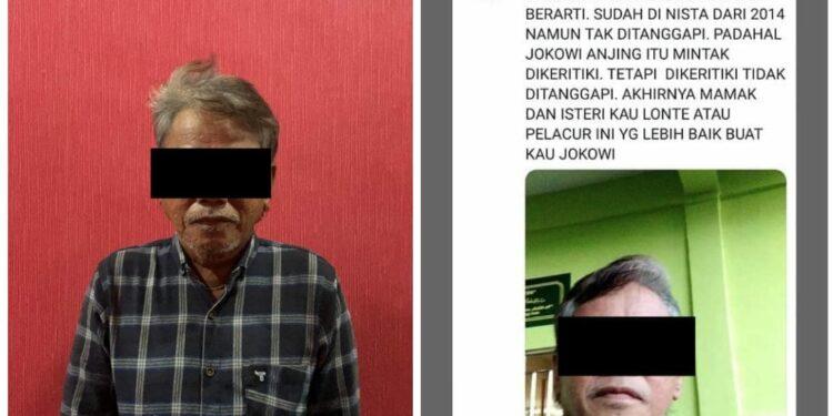 Seorang pria pelaku penyebar berita hoaks dan sara melalui media sosia Twitter diamankan Tim Opsnal Subdit V Siber Ditreskrimsus Polda Kepri, pada Rabu, 12 Mei 2021, sekitar pukul 13.00 WIB di Supermarket Bintan 21 Tanjung Pinang.