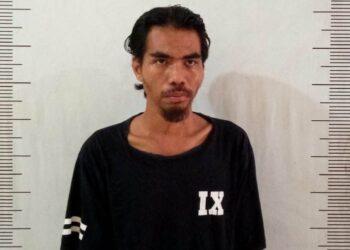 Yudi (26), pelaku pembobol ATM Bank Riau Kepri, di Sei Panas, Batam. (Foto: Arsip Polsek Batam Kota)
