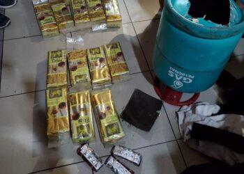 Tabung Gas Isi Narkoba. (Foto: Humas Direktorat Jenderal Bea Cukai khusus Kepulauan Riau)