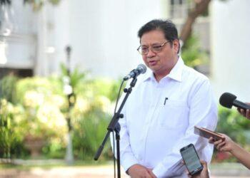 Ketua Komite Penanganan Coronavirus Disease 2019 dan Pemulihan Ekonomi Nasional (KPCPEN), Airlangga Hartarto.