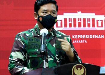 Panglima TNI, Marsekal Hadi Tjahjanto.