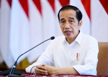 Presiden Joko Widodo  menyampaikan keterangan terkait penanganan Covid-19, di Istana Kepresidenan Bogor, Jawa Barat, Rabu, 23 Juni 2021.