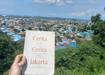 Buku Cerita-Cerita Jakarta. (Foto: Fathur Rohim)