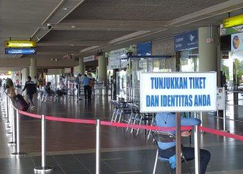 Suasana di Bandara Hang Nadim Batam, Kepulauan Riau. (Foto: Fathur Rohim)