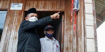 Gubernur Kepulauan Riau, Ansar Ahmad saat melakukan kunjungan kerja ke Kabupaten Natuna, Jumat, 22 Oktober 2021. (Foto: Humprov Kepri)